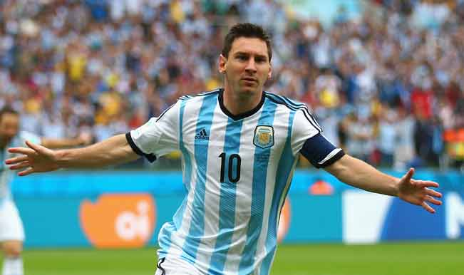 Lionel Messi scores a stunning equaliser for Argentina against Mexico