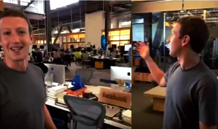 Mark Zuckerberg gives a live sneak peek of Facebook Headquarters!