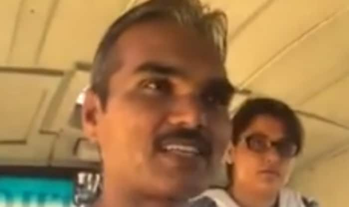 Man on bus gives a stirring talk on improving India's grassroots