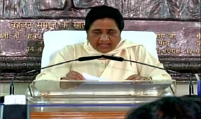 Mayawati rages about Mohan Bhagwat's reservation comment; Dares Narendra Modi government to act on RSS advice
