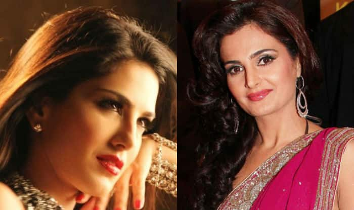 Monica Bedi turns Sunny Leone but audience throw chairs at her 'Baby Doll' event! Watch video