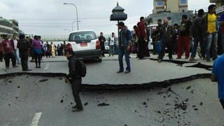 Tsunami alert issued in Chile after powerful quake kills two