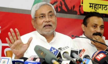 Nitish Kumar addresses Mahagathbandhan rally; promises electricity by 2016, slams BJP