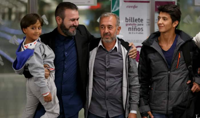 Refugee kicked by Hungarian camerawoman gets job as soccer coach in Spain