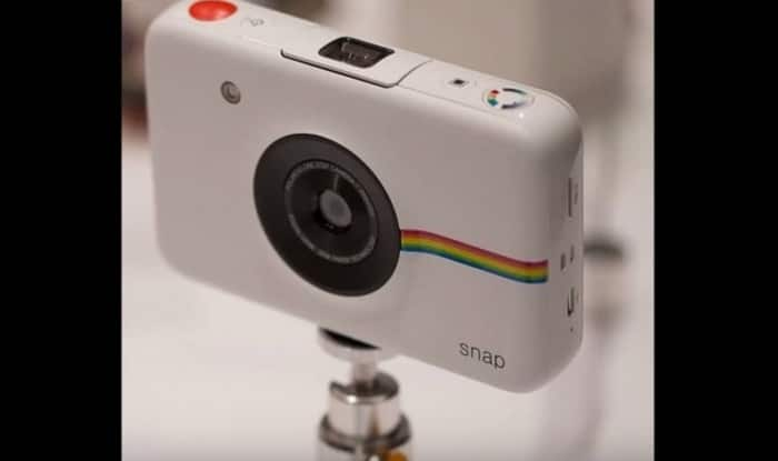Polaroid Snap camera: Prints your digital pictures without ink (Watch video)