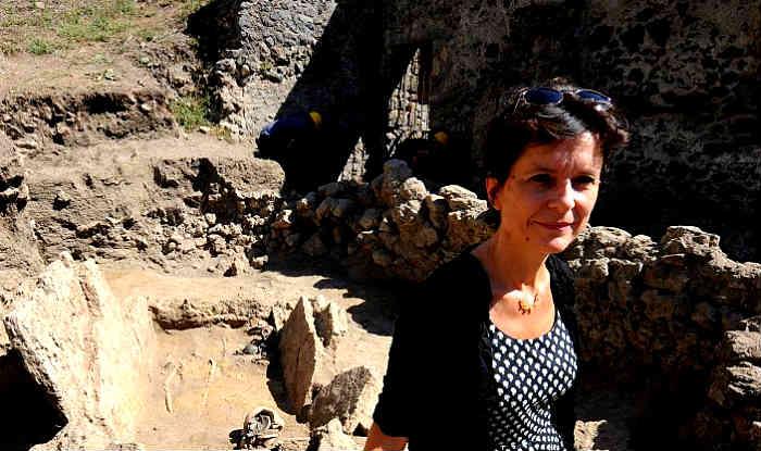 Archaeologists disover Pre-Roman era tomb at Pompeii