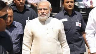 विश्व हिन्दी सम्मेलन : प्रधानमंत्री आयोजन स्थल पहुंचे