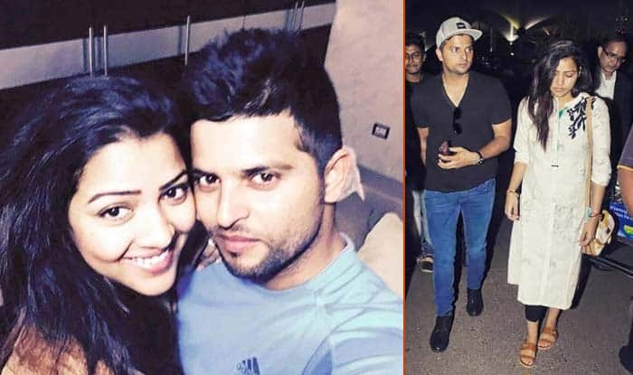 Suresh Raina & wife Priyanka Chaudhary spotted! See new pics of lovely couple