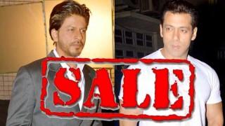 Salman Khan and Shah Rukh Khan on sale!