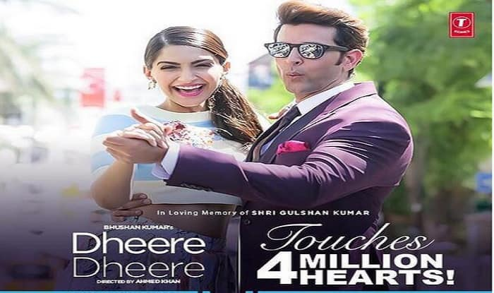 'Dheere Dheere' crosses 4 million views in two days