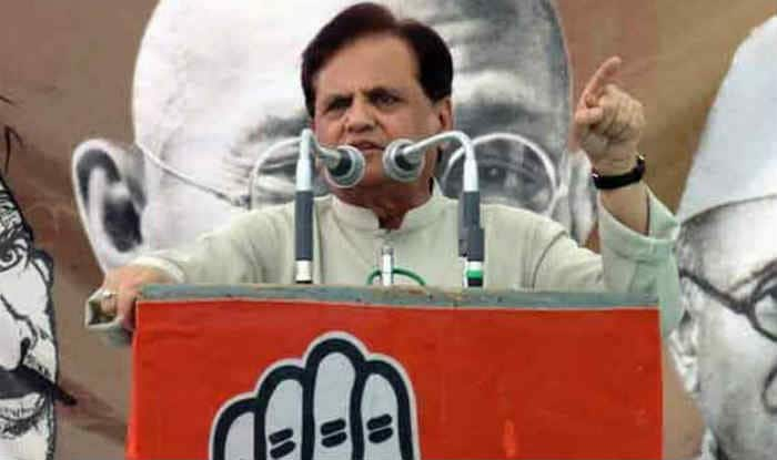 Ahmed Patel says Indian fisherman killed by Pakistan Navy despicable and unprecedented