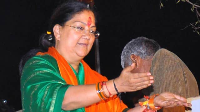 Raje inaugurates centralised kitchen of Akshay Patra in Ajmer