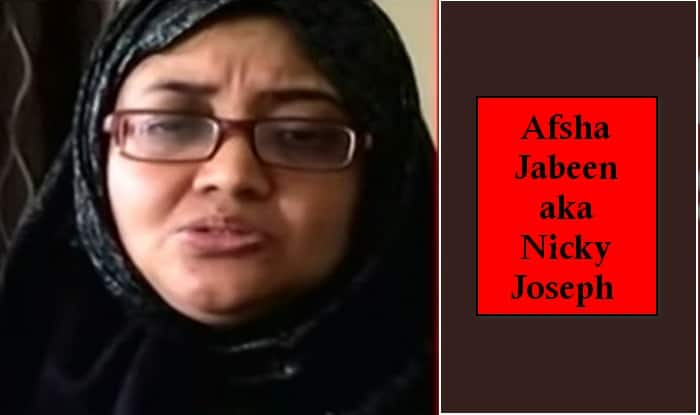 Afsha Jabeen alias Nicky Joseph: Know all about the arrested ISIS recruiter (Video)