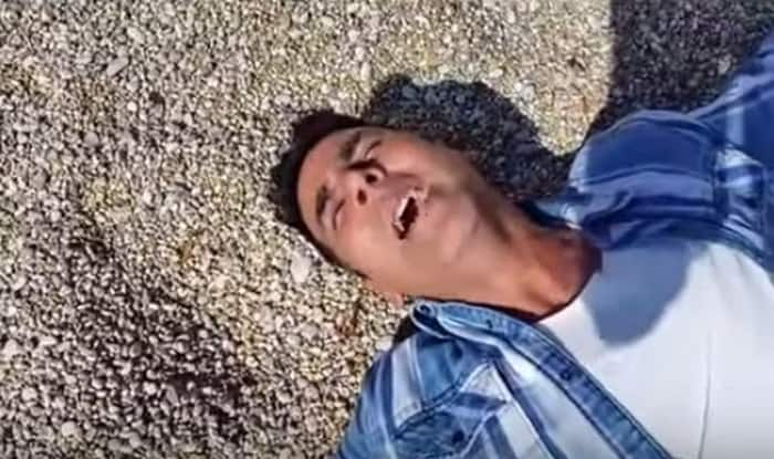 Akshay Kumar gets dizzy on Housefull 3 sets – what's wrong with him? (Watch video)