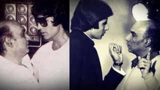Amitabh Bachchan remembers film maker Yash Chopra on his 83rd birth anniversary
