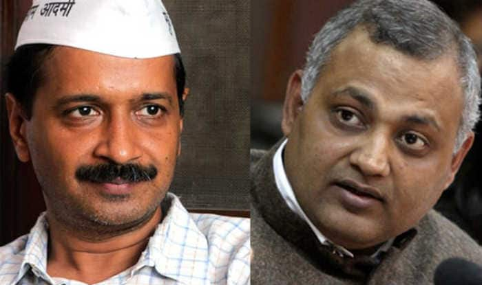 Somnath Bharti's fate may be decided at AAP national executive meet