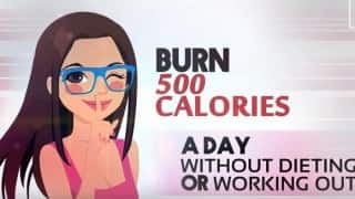Simple tips to burn 500 calories in a day without dieting (Watch video)