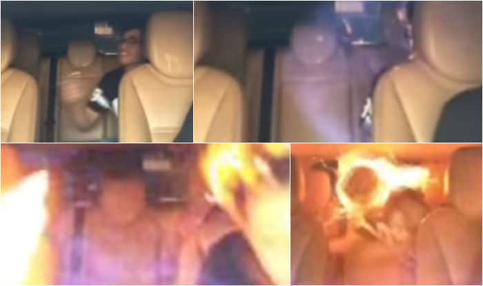 WTF! Can use of air-freshner inside car lead to fire? Watch the horror story of three boys (Watch video)
