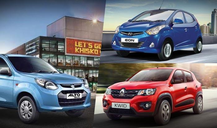 Renault Kwid vs Maruti Suzuki Alto 800 vs Hyundai Eon: Compare Features, Specifications and Price in India