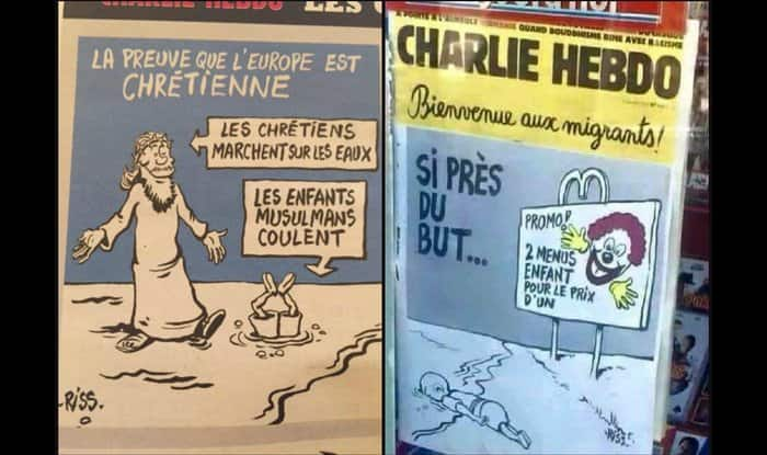 Charlie Hebdo in trouble for mocking death of Syrian toddler Aylan Kurdi: Did they really make fun of it?