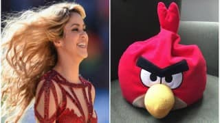 Shakira joins Angry Birds as new character