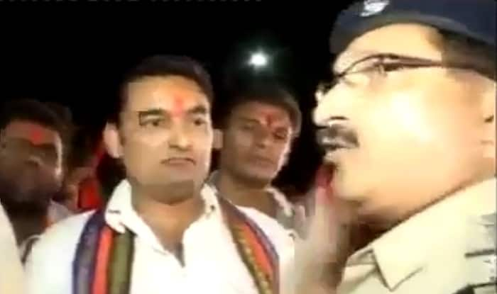 Viral video: Bajrang Dal members try to act smart, police shows them their place