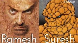 Aamir Khan & Dangal poster gets trolled by The Thing from Fantastic Four! See Pics