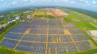 World's First Solar-Powered Airport Located in Kerala, India