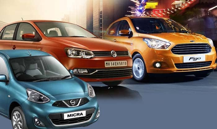 New Ford Figo 2015 vs Nissan Micra vs Volkswagen Polo: Compare Features, Specifications and Price in India