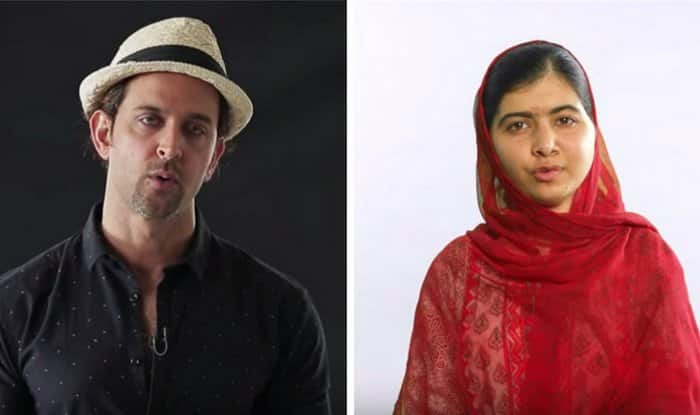 Hrithik Roshan, Jennifer Lawrence, Malala Yousafzai join hands for The Global Goals (Watch video)