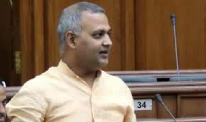 Somnath Bharti's house raided, missing: Delhi Police