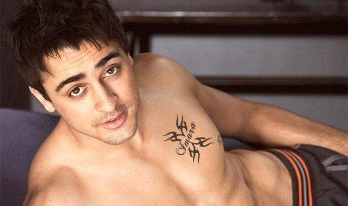 Katti Batti star Imran Khan likes to keep his tattoos hidden!