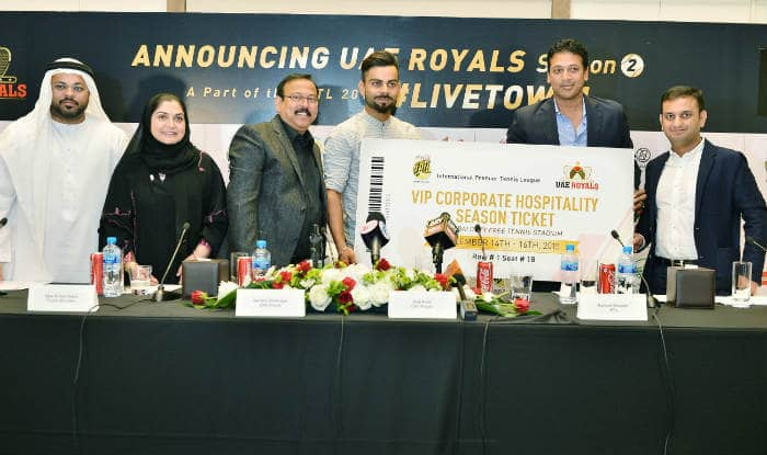 Virat Kohli is now the co-owner of IPTL team UAE Royals, has Roger Federer on board as well