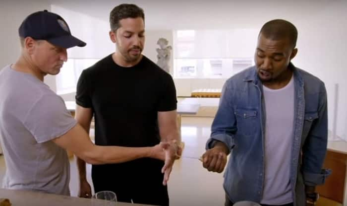OMG! Magician David Blaine posts video that is impossible to watch! Kanye West and Will Smith do it