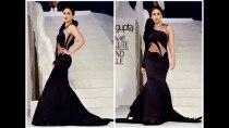 Ooh! Kareena Kapoor Khan in black sheer gown at LFW 2015 grand finale (Watch video)