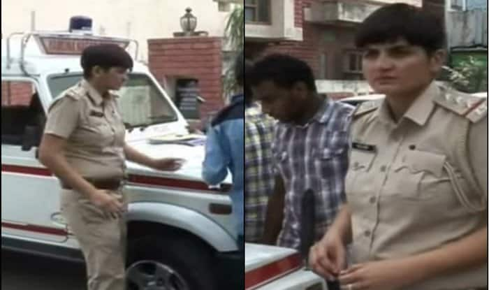 Lady cop does a Salman Khan, channels Chulbul Pandey from Dabangg! (Watch video)