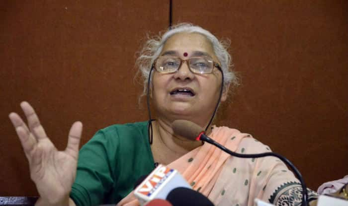 Medha Patkar detained during farmers' protest in Allahabad