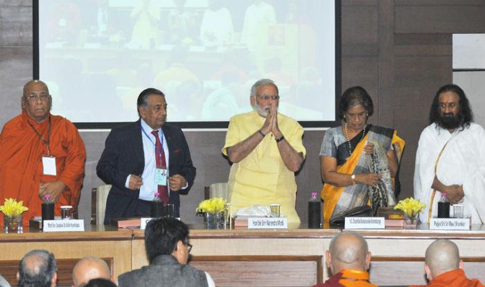 Narendra Modi addresses Global Hindu Buddhist initiative in New Delhi (Full Video)