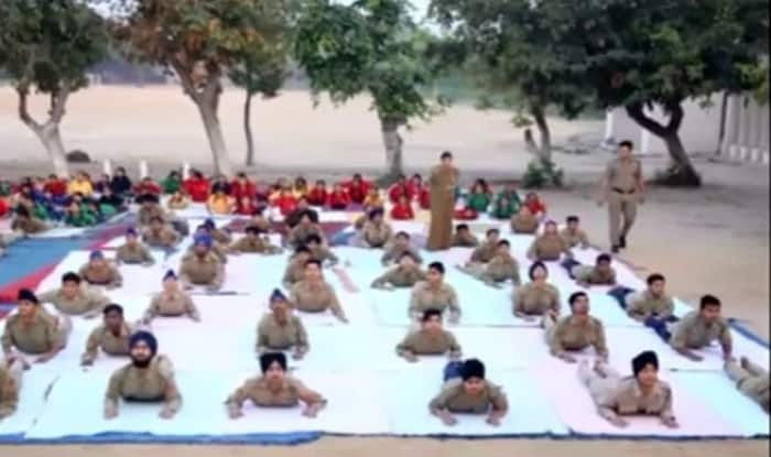 NCC enters Limca Book of Records for Largest Yoga Performance on International Yoga Day