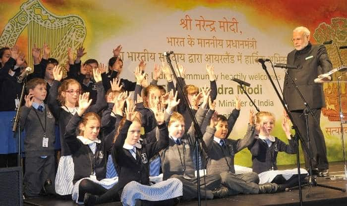 Awesome! Irish children recite Sanskrit shlokas for PM Narendra Modi (Watch video)
