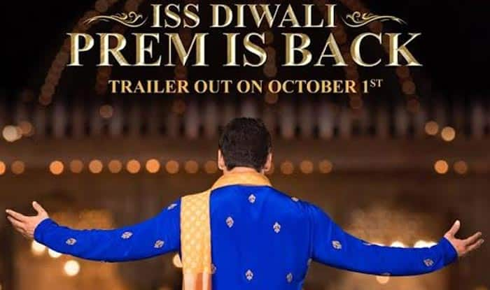 Prem Ratan Dhan Payo teaser poster: Salman Khan back as Prem, sports desi look