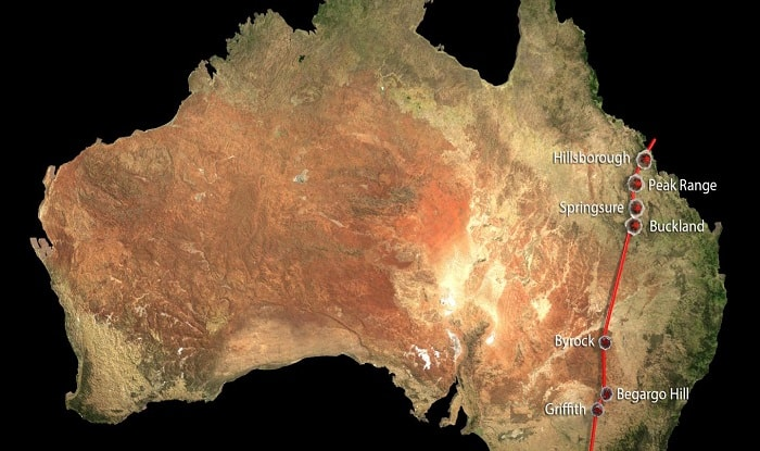 World's largest chain of volcanoes discovered in Australia