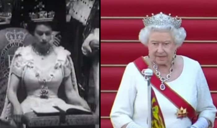 queen elizabeth II - then and now