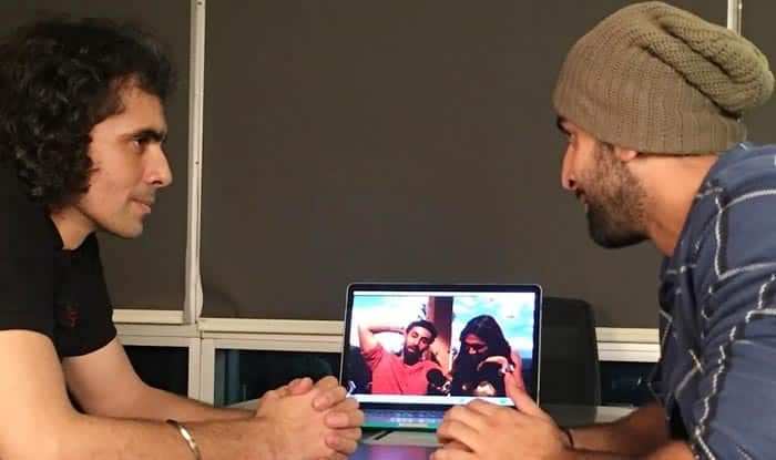 'This is not real, it's not me!' says Ranbir Kapoor as Imtiaz Ali reacts to a recent video on Tamasha!