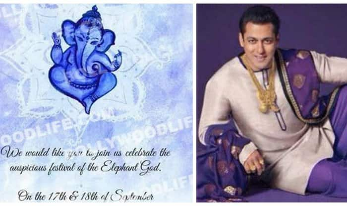 Ganesh Festival 2015: Salman Khan invites you to Ganpati celebrations at his house!
