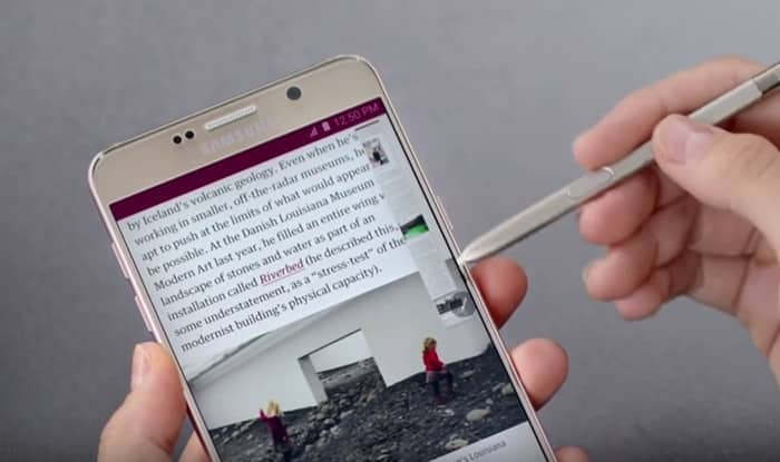 Samsung Galaxy Note 5: How to use the new S Pen and Entertainment features of the phablet