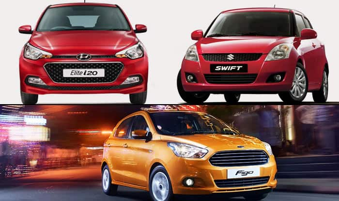 New Ford Figo 2015 vs Maruti Suzuki Swift vs Hyundai Elite i20 ...  New Swift on 2015 new sidekick, 2015 new ford, 2015 new superb, 2015 new rock, 2015 new terios, 2015 new bolero, 2015 new lincoln, 2015 new alto, 2015 new dodge,