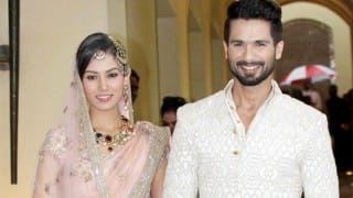 Shahid Kapoor on wife Mira Rajput: All my days spent with her so far have been Shaandaar!