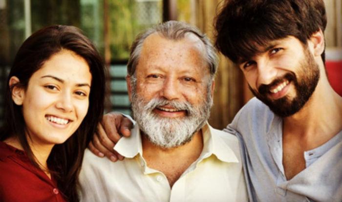 Shahid Kapoor shares an adorable snap of wifey Mira Rajput & father Pankaj Kapur