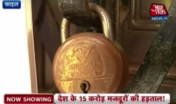 Bharat Bandh: Strike by 10 trade unions affects banks, bus, trains across India (Video)